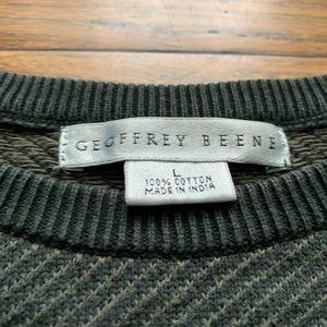 Geoffrey Beene Sweaters - Grey Warm Crew Neck Sweater